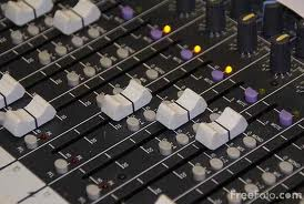 mixing desk to edit