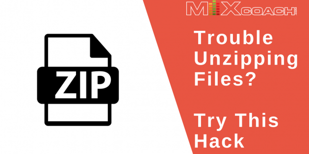 Unzip Files With This Hack
