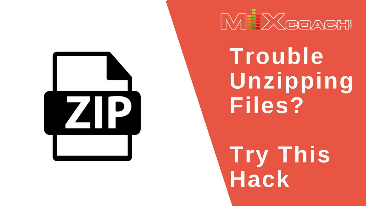 How To Unzip without Unzipping Software On A Mac | MixCoach