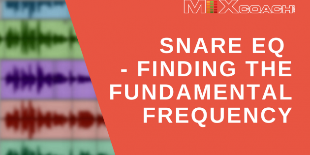Snare EQ - Finding the Fundamental Frequency